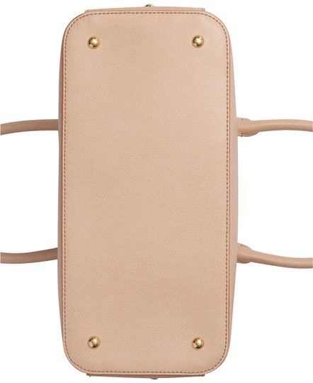 Calvin Klein Sabrina Leather New With Tag Satchel in Beige Image 3