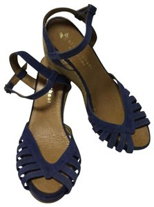 Eric Michael Blue Wedges