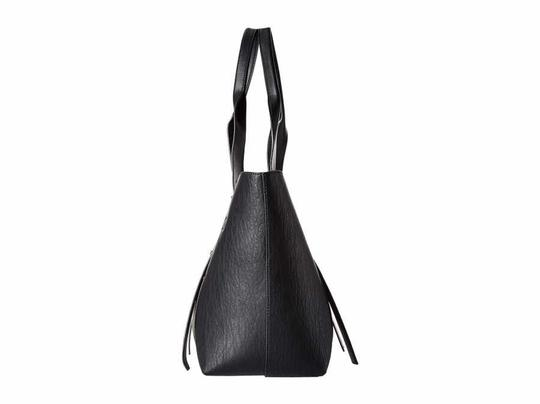 Calvin Klein Faux Leather New With Tag Tote in Black Image 2
