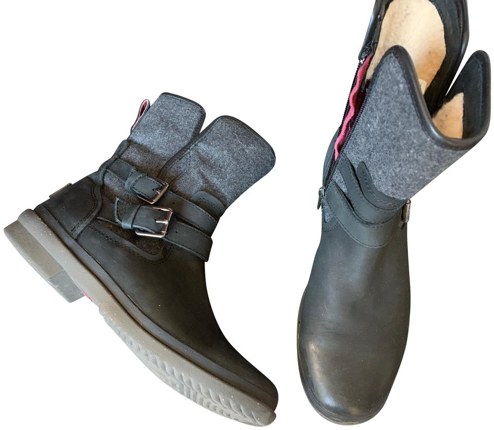 58c27fc8479 Black Simmens Boots/Booties