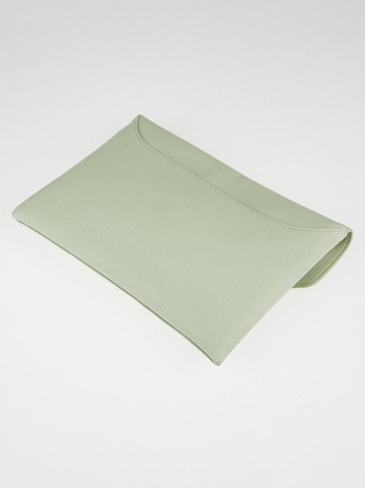 Givenchy Light Green Clutch Image 1