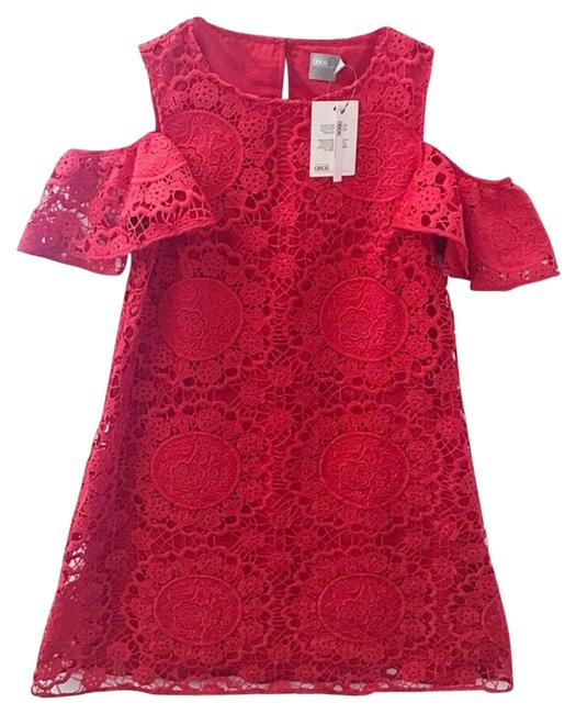 Preload https://img-static.tradesy.com/item/25268329/asos-red-lace-short-casual-dress-size-6-s-0-1-650-650.jpg