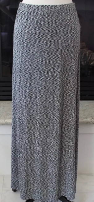 Michael Kors Op Art Maxi Skirt black white Image 1