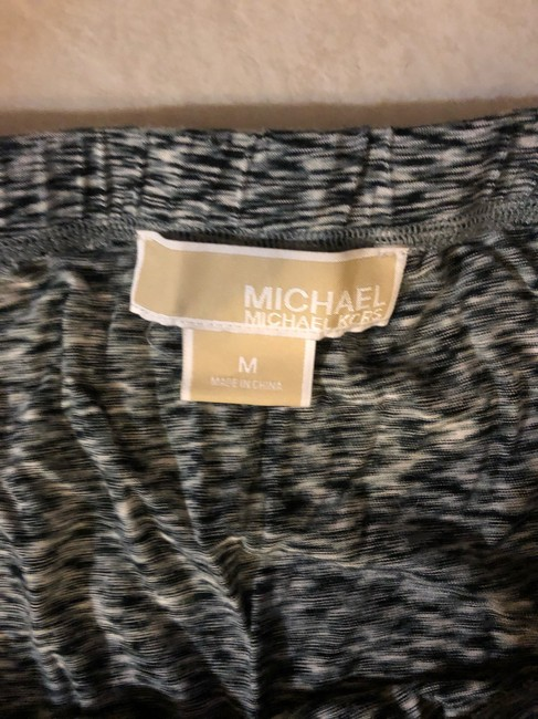 Michael Kors Op Art Maxi Skirt black white Image 3