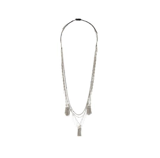 Preload https://img-static.tradesy.com/item/25268629/bcbgmaxazria-silver-toned-statement-layered-tiered-necklace-0-0-540-540.jpg