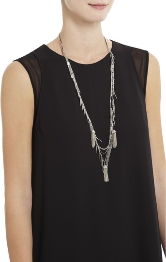 Preload https://img-static.tradesy.com/item/25268635/bcbgmaxazria-silver-toned-statement-layered-tiered-necklace-0-1-540-540.jpg