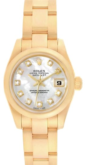 Preload https://img-static.tradesy.com/item/25268675/rolex-mother-of-pearl-president-yellow-gold-mop-diamond-ladies-179168-box-papers-watch-0-1-540-540.jpg