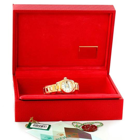 Rolex Rolex President Yellow Gold MOP Diamond Ladies Watch 179168 Box Papers Image 10