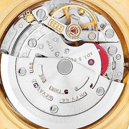 Rolex Rolex President Yellow Gold MOP Diamond Ladies Watch 179168 Box Papers Image 4