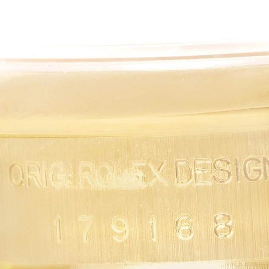 Rolex Rolex President Yellow Gold MOP Diamond Ladies Watch 179168 Box Papers Image 6