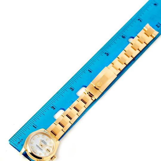 Rolex Rolex President Yellow Gold MOP Diamond Ladies Watch 179168 Box Papers Image 8