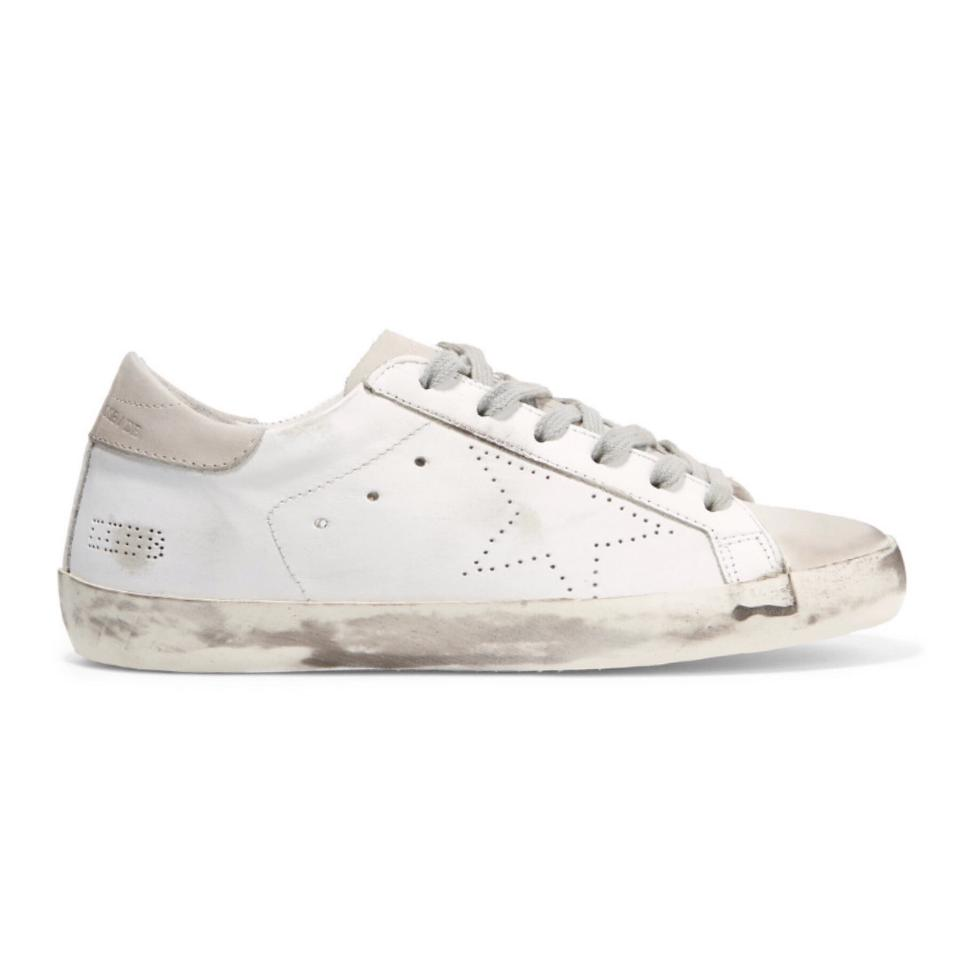 52b7e49908a Golden Goose Deluxe Brand Superstar Distressed Leather Sneakers Sneakers  Size EU 40 (Approx. US 10) Regular (M, B)