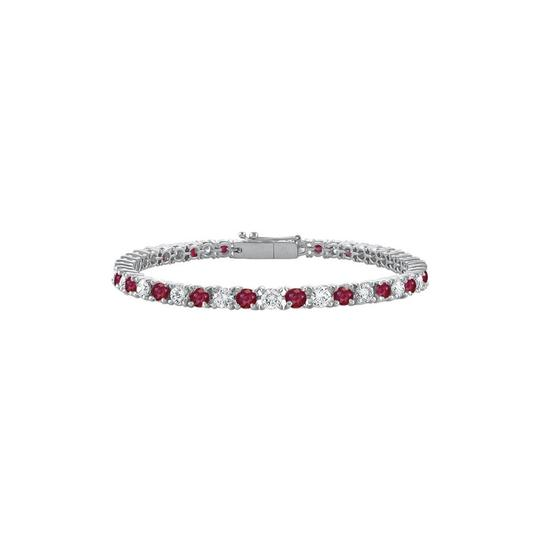 Preload https://img-static.tradesy.com/item/25268855/red-july-birthstone-created-ruby-and-cubic-zirconia-tennis-14k-bracelet-0-0-540-540.jpg