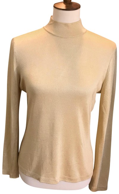 Preload https://img-static.tradesy.com/item/25268999/st-john-collection-by-marie-gray-gold-sweater-0-1-650-650.jpg