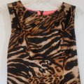 INC International Concepts Leopard Cut-out Sleeveless Dress Image 3