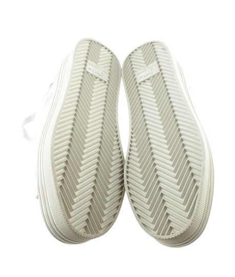 Marc Fisher Sneakers Leather Silver Flats Image 2