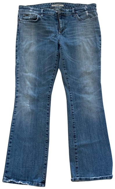 Item - Blue Provocateur Well Loved Boot Cut Jeans Size 12 (L, 32, 33)