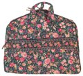 Vera Bradley retired green with flowers garment bag Image 0