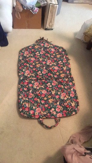 Vera Bradley retired green with flowers garment bag Image 1