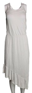 Green Dragon short dress White Midi Spaghetti Asymmetrical Hem on Tradesy