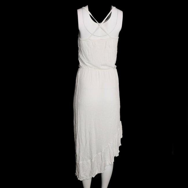 Green Dragon short dress White Midi Spaghetti Asymmetrical Hem on Tradesy Image 1