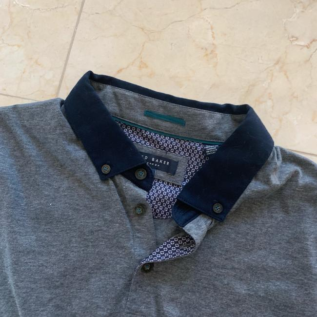Ted Baker Button Down Shirt Heather Gray Image 1
