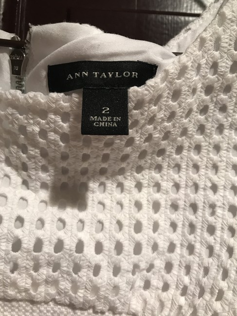 Ann Taylor short dress White Summer Tennis on Tradesy Image 3