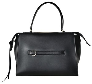 Céline Ring Small Ring Ring Ring Ring Tote in Black Natural