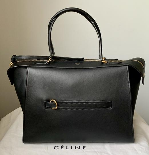 Céline Ring Small Ring Ring Ring Ring Tote in Black Natural Image 1
