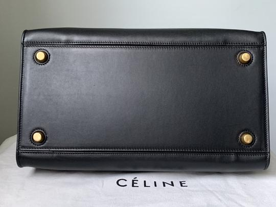 Céline Ring Small Ring Ring Ring Ring Tote in Black Natural Image 6