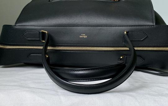 Céline Ring Small Ring Ring Ring Ring Tote in Black Natural Image 7