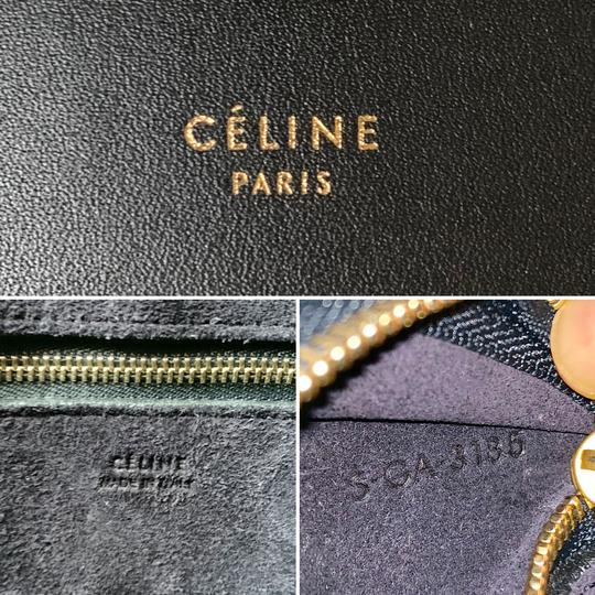 Céline Ring Small Ring Ring Ring Ring Tote in Black Natural Image 8