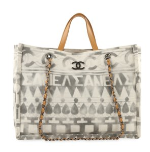 Chanel Canvas Medium Tote in Multicolor