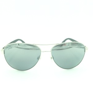Chanel Aviator Silver White Gray Mirrored Polarized Sunglasses 4204-Q 124/Z6