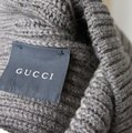 Gucci Gucci Wool Beanie Hat w/Interclocking G w/Tag Brown/ Beige 310777 2879 Image 4