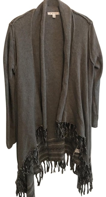 Item - Greys and Blacks Poncho/Cape Size 0 (XS)