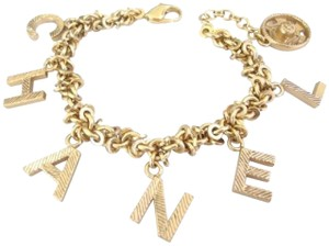 Chanel chanel Cc Logo Charms Double Sided Chain Bracelet