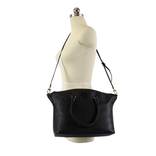 Tory Burch Taylor Slouchy Satchel in Black Image 1
