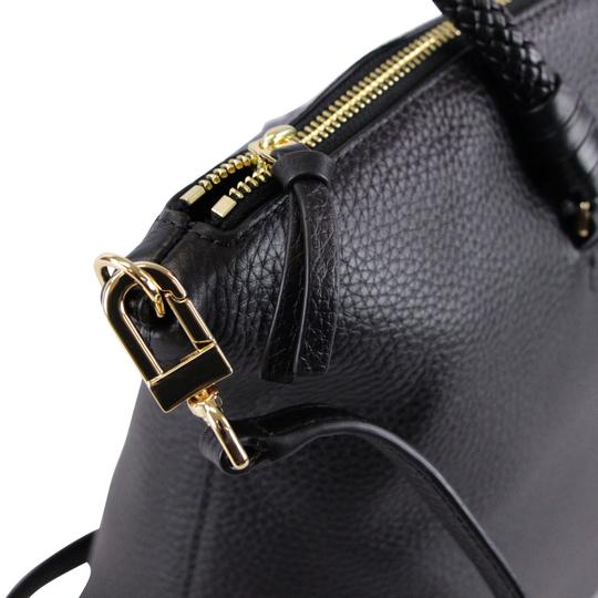 Tory Burch Taylor Slouchy Satchel in Black Image 10