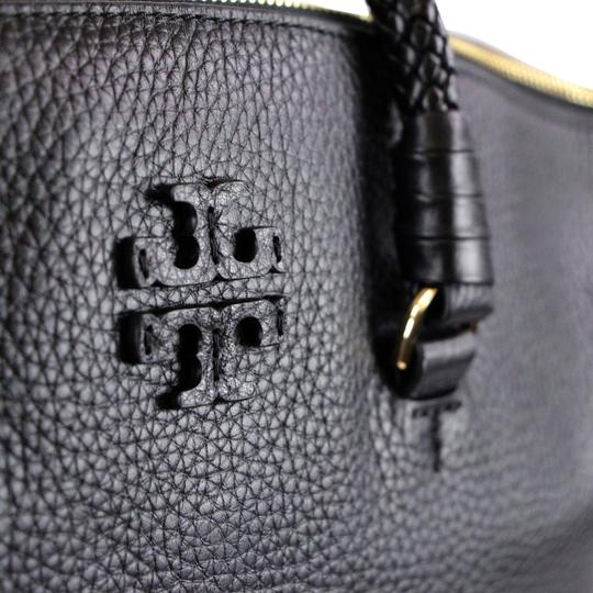 Tory Burch Taylor Slouchy Satchel in Black Image 11