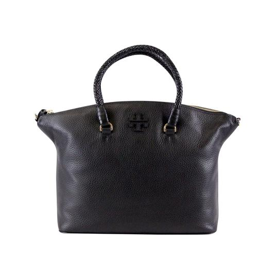 Tory Burch Taylor Slouchy Satchel in Black Image 2