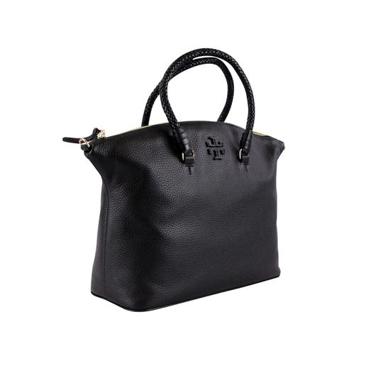 Tory Burch Taylor Slouchy Satchel in Black Image 3