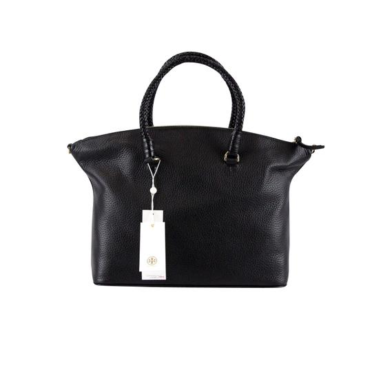 Tory Burch Taylor Slouchy Satchel in Black Image 4