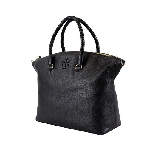 Tory Burch Taylor Slouchy Satchel in Black Image 5