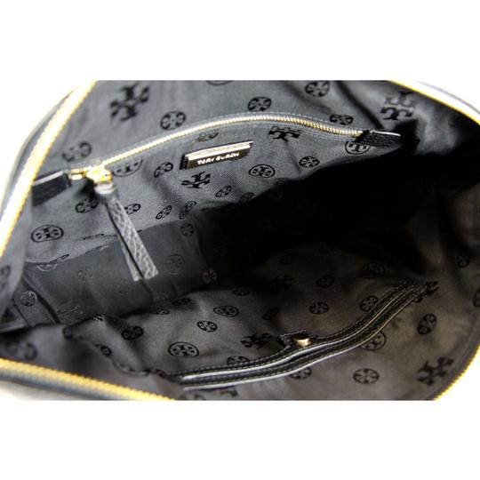 Tory Burch Taylor Slouchy Satchel in Black Image 8