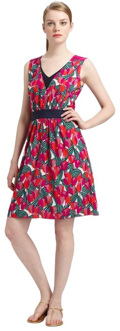Item - Multicolor Women's Augustina Printed Pink New S Mid-length Casual Maxi Dress Size 6 (S)