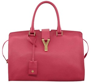 Saint Laurent Satchel in FUSCHIA