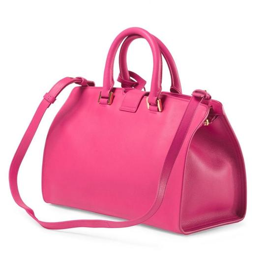 Saint Laurent Satchel in FUSCHIA Image 1