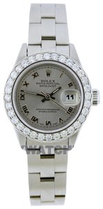 Rolex 1.5ct Ladies 26mm Datejust Stainless with Box & Appraisal