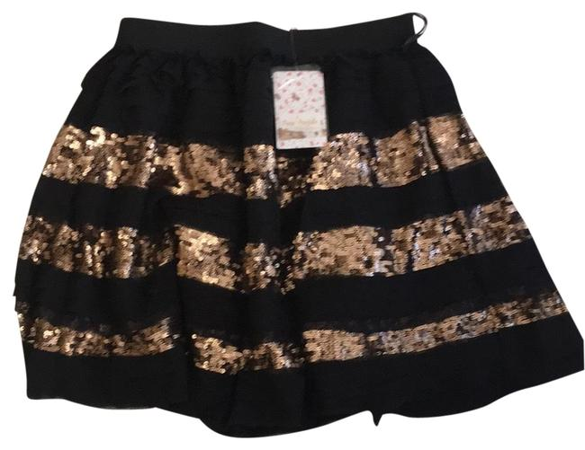 Item - Black and Gold Skirt Size 2 (XS, 26)
